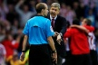 Wenger punished, pushed fourth referee