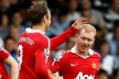 Berbatov and Rooney in attack, United were without Rio