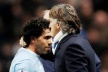 Mancini: The letters shall be a lot of crap for Tevez scandal