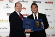 Francesco Totti left the footprint in Monaco