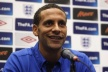Rio Ferdinand unhappy with the referee, played the match with Montenegro