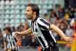Del Piero tied the record for most goals with team Juventus in Serie A