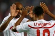 Fabiano and Kanoute brought a dramatic victory over Sevilla Bilbao