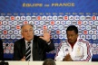 Evra was not sanctioned to play for France