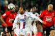 Ren failed to lead Ligue 1 after a cross by Lyon
