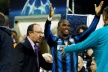 Moratti before the match with AC Milan: I believe in Benitez