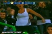 VIDEO: Naked female flesh and great joy in the stands