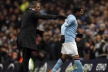 Tevez against Mancini erupted near the touch line