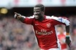 Eboue continued his contract with Arsenal
