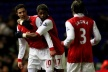 Arsenal again reduce the liability of two points of United and City