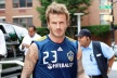 Fans in the USA: Beckham is selfish pig