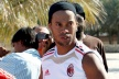 Inter want Ronaldinho but a clause in his contract prohibiting transfer