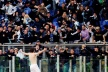 Lazio boss hit by a stone in the head before the derby