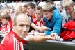 Arjen Robben believes playing at Bayern for a long time