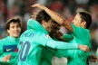 Barca leave no chance of Almeria and is Cup final