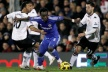Chelsea failed to beat Fulham in front of Mourinho