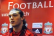 Carroll made his debut for Liverpool against Manchester United