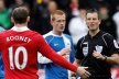 Referee wanted to retire after elbow Rooney