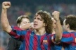Puyol back hurt his knee out against Arsenal