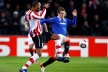 PSV Eindhoven crashed his head into a wall hard Rangers