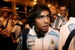 Tevez again out of the squad for Argentina