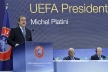 Platini was re-elected UEFA President