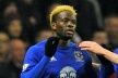 Louis Saha in Everton will be sidelined until the end of the season