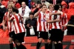 Athletic Bilbao in Europe, quite Almeria stoppered at the bottom