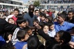 PHOTOS: Lilian Thuram in Palestine