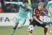Barca would again Shakhtar, Messi to record
