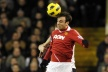 Berbatov in attack against City