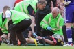 Carragher with a concussion, but without serious consequences