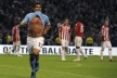 Man City oust Arsenal from third place, Tevez Berbatov equalized in goals