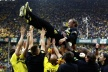 Champion Dortmund drew back from fourth division