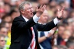 Ferguson received second prize for manager of the season