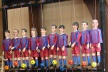 PHOTOS: Warm to finish with dolls Messi, Xavi, Iniesta, Bojan, Villa and Puyol