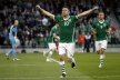 With a goal of Ireland's Robbie Keane won the Nations Cup