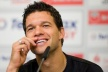 Ballack will not play about Germany