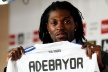 Adebayor near Madrid