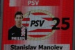 Manolev playing 79 minutes in the loss of PSV from Valencia