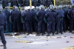 More than 30 police officers injured in clashes after the Cup matches in Germany