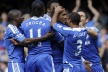 Chelsea second consecutive victory, Mata debut with a goal, Drogba with severe injury