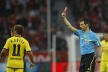 In game two red cards Borussia Dortmund failed to beat Bayer