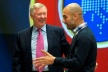 Fergie and Pep laughed and discussed the problems in football