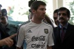 Thousands of Lionel Messi welcomed at the airport in the capital of Bangladesh