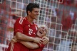Mario Gomez is back in the game for Bayern