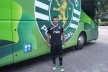 Valeri Bojinov came on as a substitute in the victory of the Sporting Lisbon