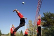 PHOTOS: Football? Yes, yes! Austrian train internationals with volleyball and gymnastics