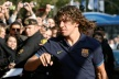 Puyol was considering quitting football