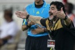 Maradona apologized after a severe loss of his team
